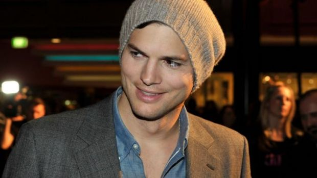 Top earning male: Ashton Kutcher.