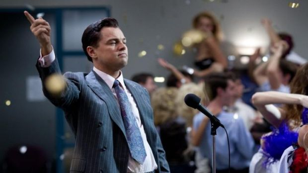I swear: <i>The Wolf of Wall Street</i> - with Leonardo DiCaprio pictured - set a record for use of the f-word in a ...