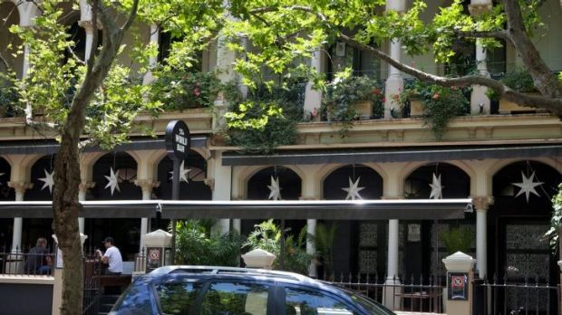 Freehold: Terraced apartments on offer above World Bar & Club, 24 Bayswater Road.