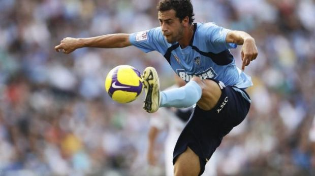 Fan favourite: Brosque in action for the Sky Blues in 2010.