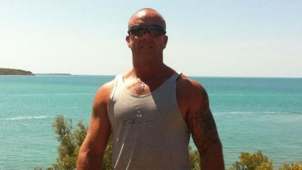 Jarrod Dark: found dead with his hands tied behind his back.