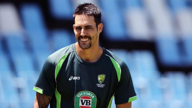 """Mitchell Johnson: """"They are very structured in the way that they do everything, so we're trying to prepare ourselves as ..."""