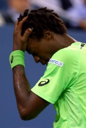 Missed chance: A dejected Gael Monfils.