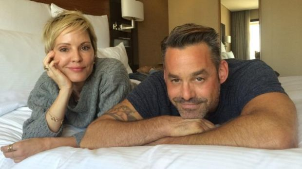 Emma Caulfield and Nicholas Brendon from former hit TV show <i>Buffy the Vampire Slayer</i>.