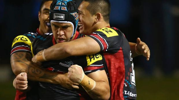 Jamie Soward and the Panthers will hope to secure a top-four spot against the Warriors.