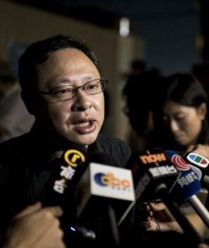 Deflating: Benny Tai has been accused of underselling the protest movement.