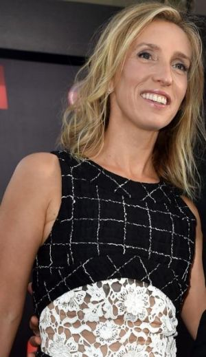 Sensation: Some were surprised when Sam Taylor-Johnson was picked to direct Fifty Shades of Grey.