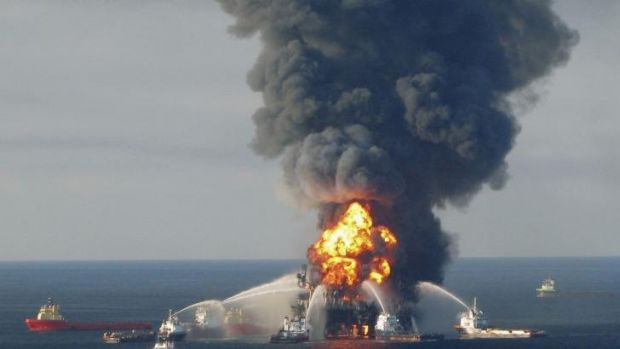 Share freefall: BP's value plummeted by almost $10 billion after a US court found it to be grossly negligent over the ...