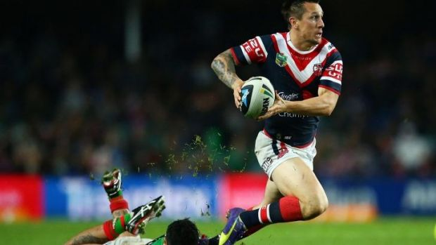 """""""The boys are confident at the moment and everyone is buzzing"""": Roosters half Mitchell Pearce."""