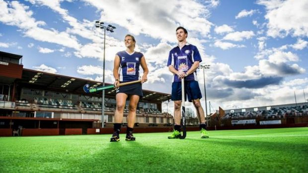 Kate Dooley and Daniel Hotchkis will be out to lead Central to premierships during the finals.