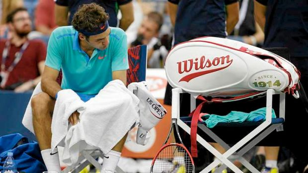 No answers: Roger Federer.