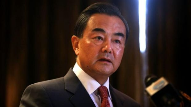 """""""China may not be Australia's closest friend at the moment but we can surely become your most sincere friend"""": Wang Yi."""