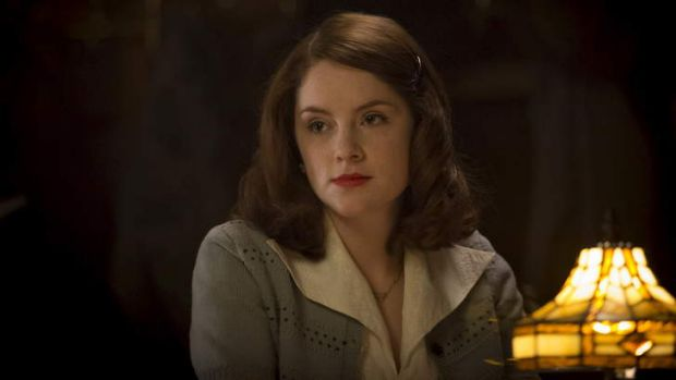Smart offering: Sophie Rundle as Lucy in <i>The Bletchley Circle</i>.