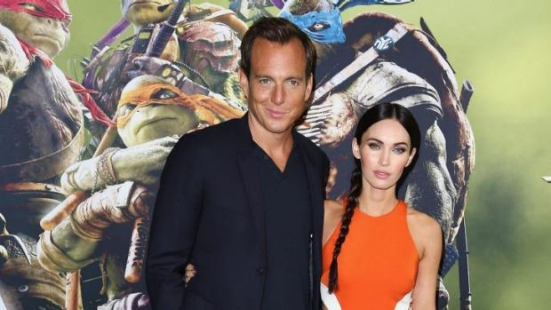 Will Arnett and Megan Fox play co-workers at a TV news channel who hunt the turtles.