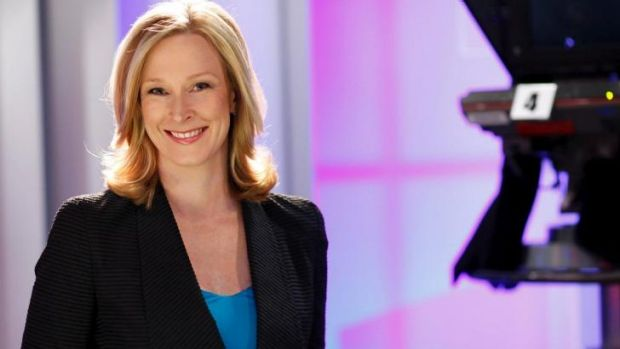 Back in the hot seat: Leigh Sales returns to the <i>7.30</i> chair tonight after a six-month maternity leave break.