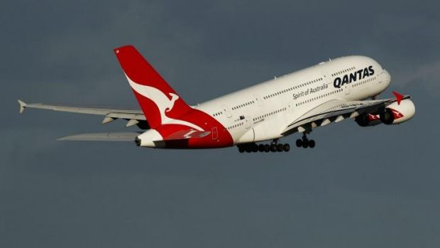 Qantas has cut back on services using the giant A380 due to weak demand.