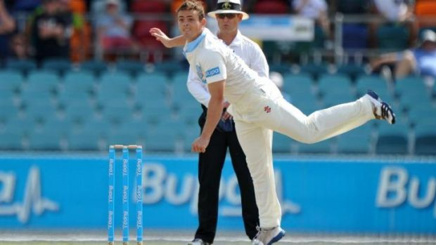 Late bloomer: NSW spinner Stephen O'Keefe.
