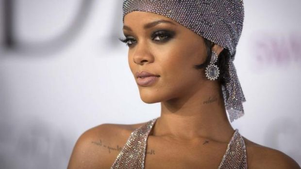 Hacked: Rihanna was one of the female stars targeted in the cloud security breach.