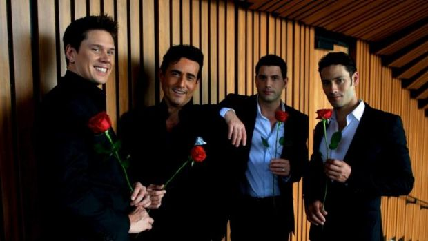 Il Divo: (from left) David Miller, Carlos Marin, Sebastien Izambard and Urs Buhler.