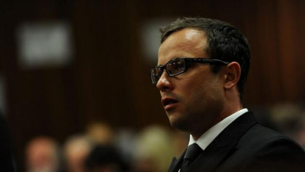 Oscar Pistorius in the Pretoria High Court.