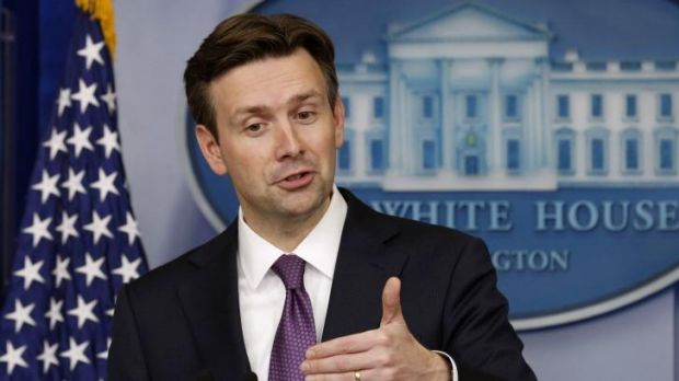 Somewhat vague: White House spokesman Josh Earnest wasn't able to provide a clear idea of the likely content of US ...