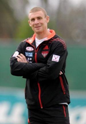 Essendon assistant coach Simon Goodwin.