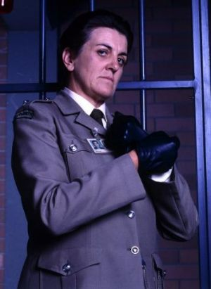 "<i>Prisoner's</i> Joan ""The Freak"" Ferguson."