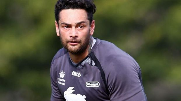 Team first: John Sutton will shift to the back row to allow Adam Reynolds to play in the halves.