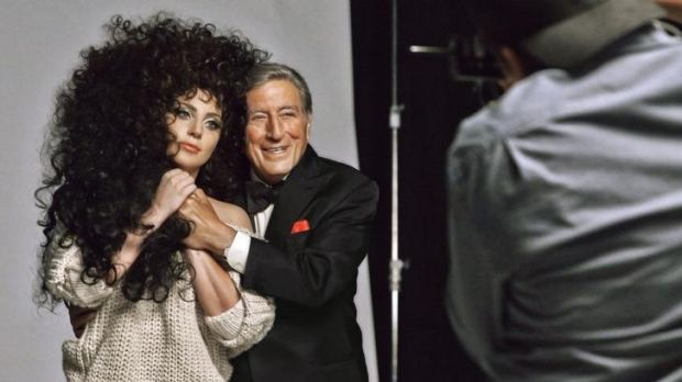 Star power: Lady Gaga and Tony Bennett have bonded over their mutual love of some classic songs.