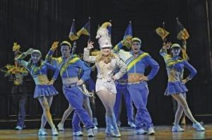 Centre stage:  Lucy Durack stars in  Legally Blonde the Musical.