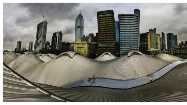 Benchmark: Gerard Vaughan rates Southern Cross Station as one of the great public buildings.