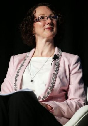 Telstra executive director Jane Van Beelen