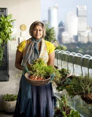 Indira Naidoo says there's only one thing you need to be able to grow a garden – sunlight.