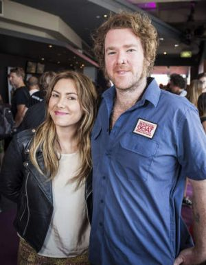 Melbourne's Ella Hooper (formely of Killing Heidi) and Darwin musician David Garnham.