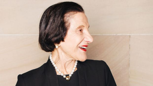 All hail...outgoing NSW Governor, Dame Marie Bashir.