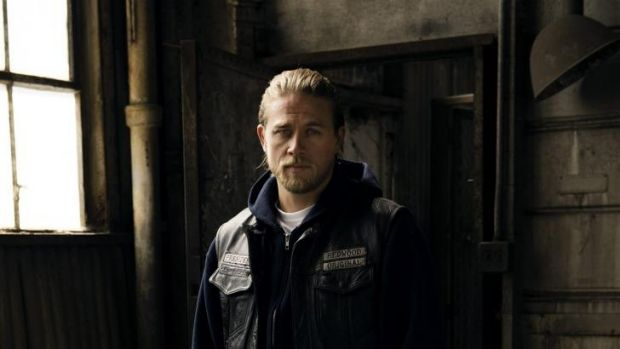 The boss: Charlie Hunnam as Jax Teller in Sons Of Anarchy.