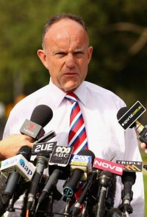 """""""We look forward to joining with the Newtown Jets"""": Cronulla Sharks CEO Steve Noyce."""