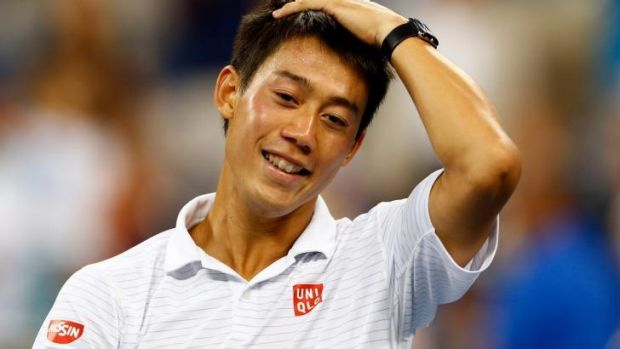 Financial winner: Japan's Kei Nishikori.