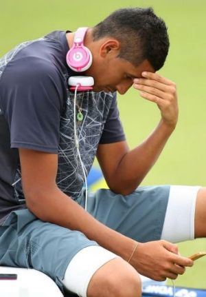 Nick Kyrgios has been selected as Australia's second player for the tie against Uzbekistan.