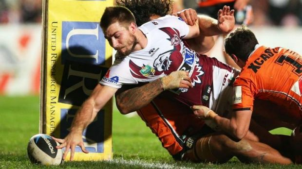 Standing up for the fans: Manly's Kieran Foran.