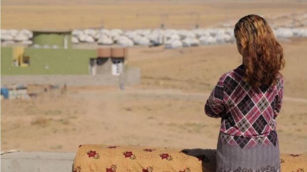 Islamic State militants shot Narin's brother and still hold her sister-in-law captive.
