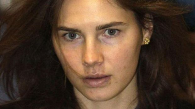 Amanda Knox at court in Italy in 2011.