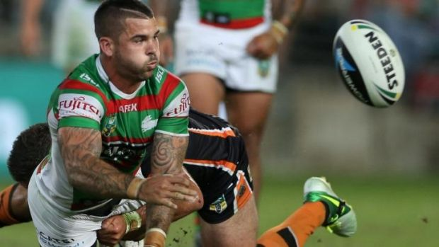 Souths halfback Adam Reynolds returns from suspension.