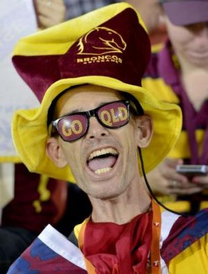 Broncos fans will have a tough assignment battling the Townsville crowd.