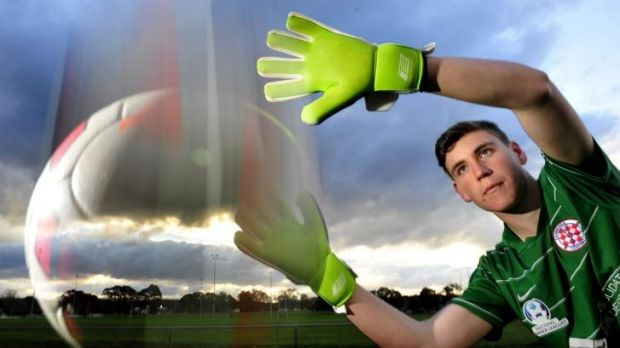 Impressive:  Canberra teenager Shaun Burke is set for a trial with Sydney FC.