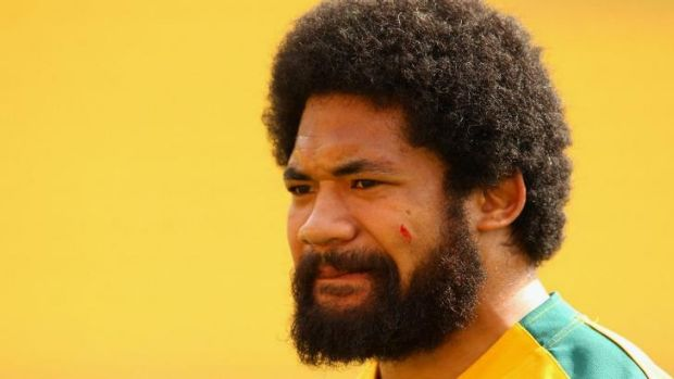Worthy cause: Wallabies hooker Tatafu Polota-Nau is considering donating his brain to science.