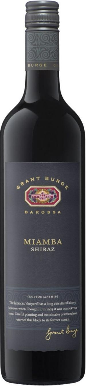 Grant Burge Barossa Valley Miamba Shiraz 2012.