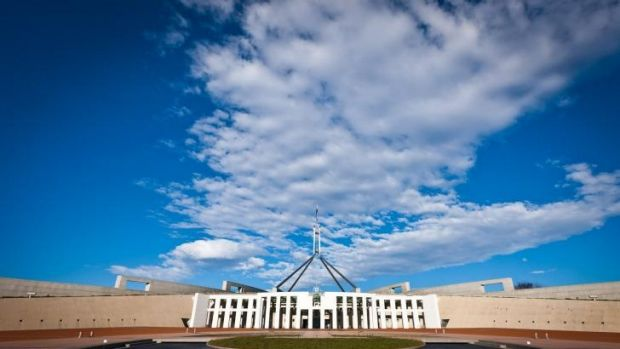 Parliament House: a  low-risk bacteria was found in hot water systems.