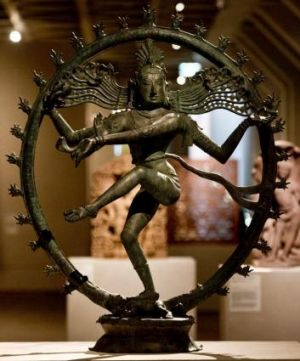 The Shiva statue at its previous National Gallery home.