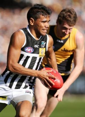 Port Adelaide has rediscovered its running ability over the past three weeks.